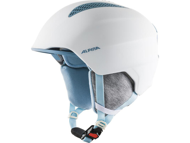 Alpina Grand Ski Helmet Kids, white/skyblue